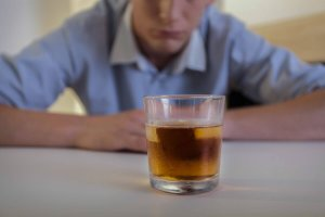 Having A Conversation With A Student Struggling With Alcohol Abuse